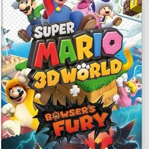 Super Mario 3D world + Bowsers fury's